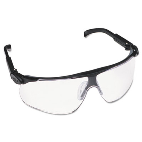 3M Maxim Protective Eyewear, Black Frame/Clear Lens, Anti-Fog DX Hard-Coat (MMM62235)