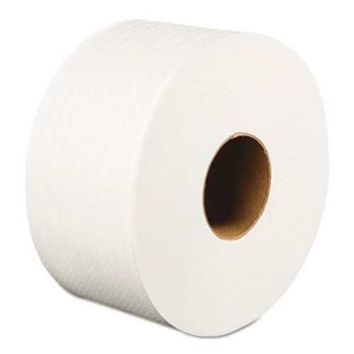 "Boardwalk Jumbo Roll Bathroom Tissue, 2-Ply, White, 3.2"" x 525 ft, 12 Rolls/Carton (BWK410320)"