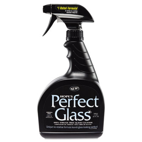 Hope's Perfect Glass Glass Cleaner, 32oz Bottle (HOC32PG6)