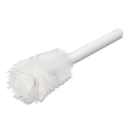 "Carlisle Sparta Handle Bottle Brush, Pint, 12"", White (CFS4046600)"