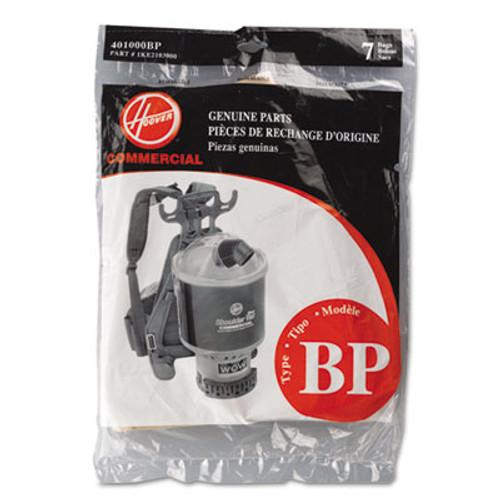 Hoover Commercial Disposable Paper Liner for Commercial Backpack Vacuum Cleaner, 7/Pack (HVR401000BP)