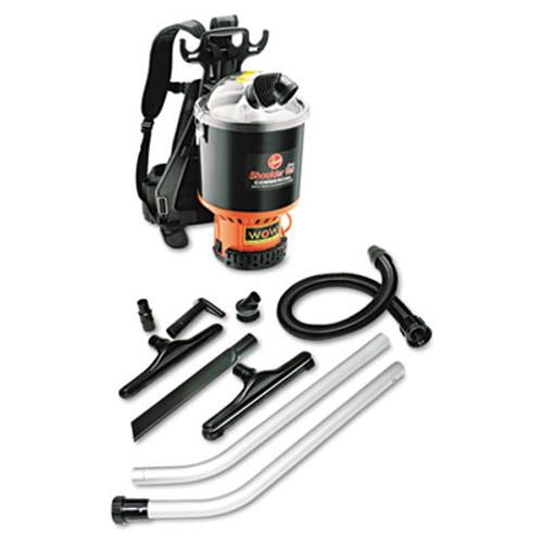 Hoover Commercial Backpack Vacuum, 9.2lb, Black (HVRC2401)