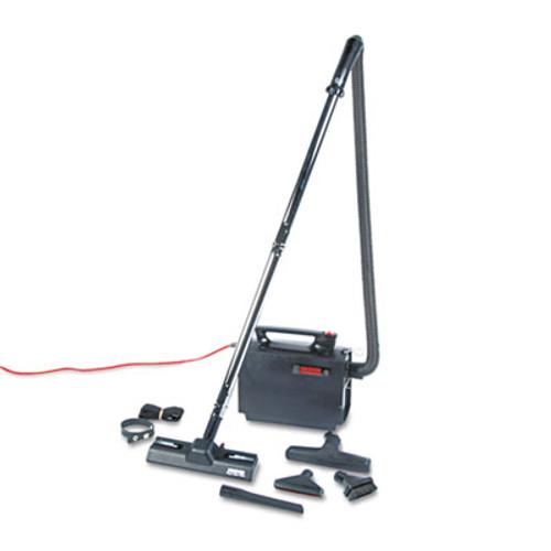 Hoover Commercial Portapower Lightweight Vacuum Cleaner, 8.3lb, Black (HVRCH3000)