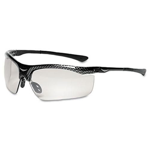 3M SmartLens Safety Glasses, Photochromatic Lens, Black Frame (MMM13407000005)