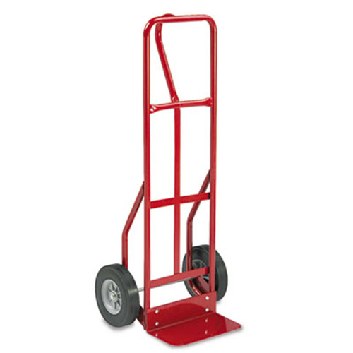 Safco Two-Wheel Steel Hand Truck, 500lb Capacity, 18w x 47h, Red (SAF4084R)