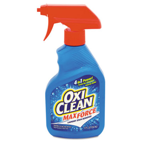 OxiClean Max Force Laundry Stain Remover, 12oz Spray Bottle (CDC5703700070EA)