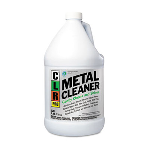CLR PRO Metal Cleaner, 128oz Bottle, 4/Carton (JELCLRMC4PRO)