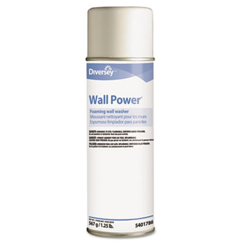 Diversey Wall Power Foaming Wall Washer, 20 oz Can, 12/Carton (DVO95401786)