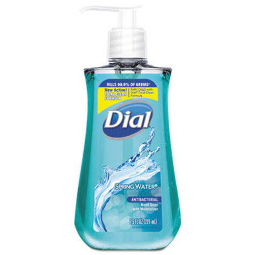 Dial Antimicrobial Liquid Hand Soap, Spring Water Scent, 7.5 oz Bottle (DIA02670EA)