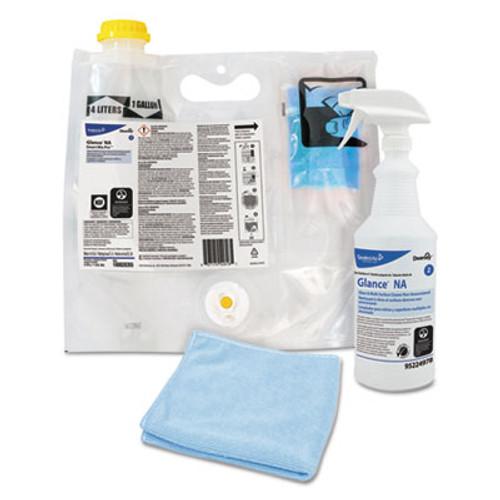 Diversey Glance NA Glass & Multi-Surface Cleaner, 0.172 L Smart Mix Pro Bag (DVO100873908)