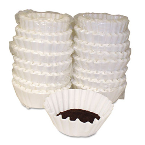 Melitta Basket Style Coffee Filters, Paper, 12 to 15 Cups, 800/Carton (MLA620014)