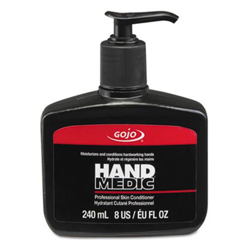 GOJO HAND MEDIC Professional Skin Conditioner, 8 oz Pump Bottle, 6/Carton (GOJ814506)