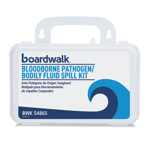 "Boardwalk Blood Clean-Up Kit, 30 Pieces, 3"" x 8"" x 5"", White (BWK54865)"