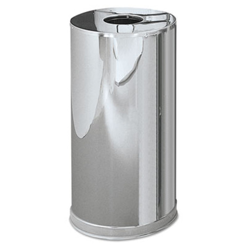Rubbermaid Commercial Atrium Steel Containers,7 7/10 gal, Stainless Steel (RCPCC16MCGL)