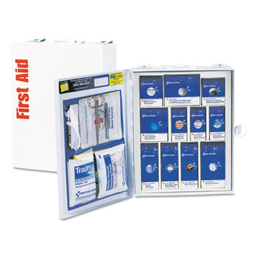 First Aid Only ANSI Compliant SmartCompliance First Aid Station Class A, 25 People, 96 Pieces (FAO90578)