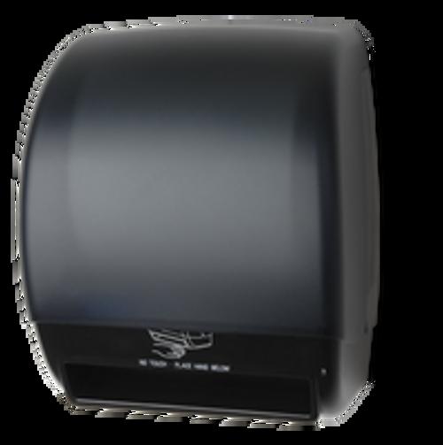 Palmer Fixture Electra Touchless Paper Towel Dispenser - Black Translucent