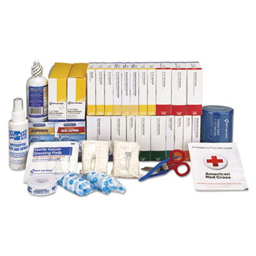 First Aid Only 2 Shelf ANSI Class B+ Refill with Medications, 446 Pieces (FAO90618)