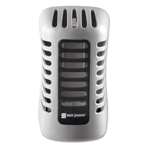 San Jamar Arriba Twist Passive Dispenser, 2 7/8 x 4 5/8 x 2 7/8, Gray (SJMWP107801202)