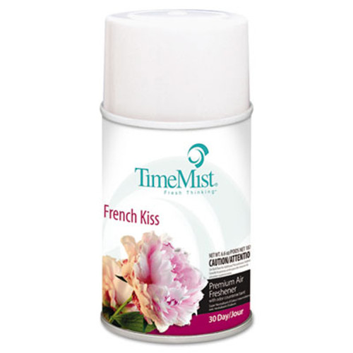 TimeMist Metered Aerosol Fragrance Dispenser Refills, French Kiss, 6.6oz, 12/Carton (TMS1042824)