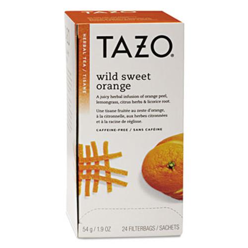 Tazo Tea Bags, Wild Sweet Orange, 24/Box (TZO151598)