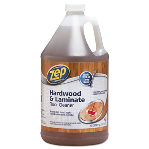 Zep Commercial Hardwood and Laminate Cleaner, 1 gal Bottle (ZPE1041692)
