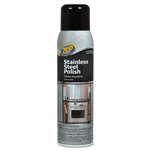 Zep Commercial Stainless Steel Polish, 14 oz Aerosol (ZPE1046517)
