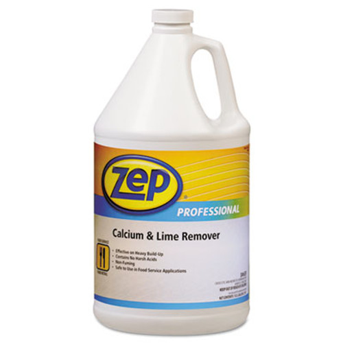 Zep Professional Calcium & Lime Remover, Neutral, 1gal Bottle, 4/Carton (ZPP1041491)
