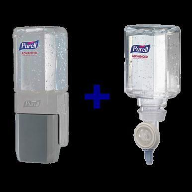 PURELL Advanced Instant Hand Sanitizer Gel, Lemon Scent, 450 mL Refill