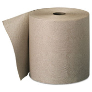 Georgia Pacific Professional Nonperforated Paper Towel Rolls, 7 7/8 x 800ft, Brown, 6 Rolls/Carton (GPC 263-01)