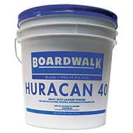 Boardwalk Low Suds Laundry Detergent, Economical, Powder, Fresh Lemon Scent, 40lb Pail (BWK HURACAN40)