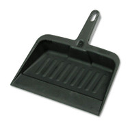 "Rubbermaid Commercial Heavy-Duty Dustpan, 8 1/4"" w, Polypropylene, Charcoal (RCP 2005 CHA)"