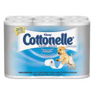 Cottonelle Ultra Soft Bath Tissue, 1-Ply, 165 Sheets/Roll, 48/Carton (KCC 12456)