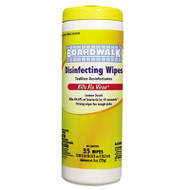 Boardwalk Disinfecting Wipes, 8 x 7, Lemon Scent, 35/Canister, 12 Canisters/Carton (BWK 355-W35)