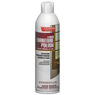 Chase Products Champion Sprayon Furniture Polish, Lemon, 17oz, Aerosol, 12/Carton (CHA 5136)