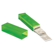 """Unger ErgoTec Glass Scraper Replacement Blades, 4"""" Double-Edge, 25/Pack (UNG TR10)"""