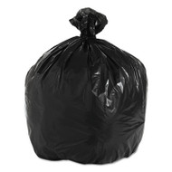 Boardwalk Super Extra-Heavy Can Liner, 33x39, 1.6 Mil, 33gal, Black, 10 Bag/RL, 10 RL/CT (BWK 520)