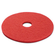 Boardwalk Standard 17-Inch Diameter Buffing Floor Pads, Red (PAD 4017 RED)