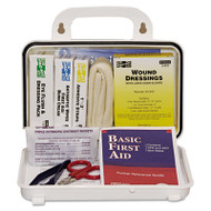 Pac-Kit ANSI Plus #10 Weatherproof First Aid Kit, 76-Pieces, Plastic Case (ACE 6410)