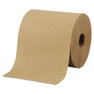 "Morcon Paper Hardwound Roll Towels, 8"" x 800ft, Brown, 6 Rolls/Carton (MOR R6800)"