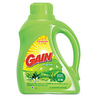 Gain Liquid Laundry Detergent, Original, 50oz Bottle, 6/Carton (PGC 12784)