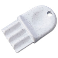 San Jamar Key for Plastic Tissue Dispenser: R2000, R4000, R4500 R6500, R3000, R3600, T1790 (SAN N16)
