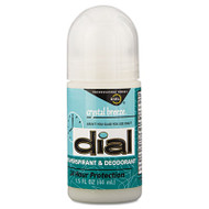 Dial Anti-Perspirant Deodorant, Crystal Breeze, 1.5oz, Roll-On, 48/Carton (DIA 07686)