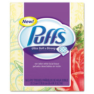 Puffs Ultra Soft and Strong Facial Tissue, 56 Sheets/Box, 24 Boxes/Carton (PGC 35038)