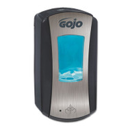 GOJO LTX-12 Touch-Free Dispenser, 1200mL, 5 1/4 x 3 1/3 x 10 1/2,Brushed Chrome/Black (GOJ 1919-04)