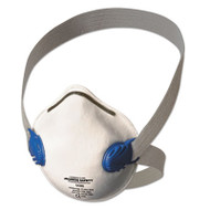 Jackson Safety* R10 Particulate Respirator, N95, White w/Gray Straps, 10/Box (KCC 64260)