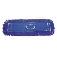 Boardwalk Clinger Dust Mop Head, Nylon, 36 x 5, Blue, 12/Carton (UNS CL365BSP)