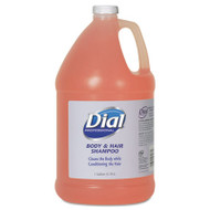 Dial Professional Body and Hair Care, 1gal Bottle, Gender-Neutral Peach Scent, 4/Carton (DIA 03986)