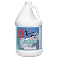 Big D Industries Water-Soluble Deodorant, Mountain Air, 1gal, 4/Carton (BGD 1358)