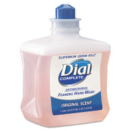 Dial Professional Antimicrobial Foaming Hand Wash, 1000mL Refill, 6/Carton (DIA 00162)