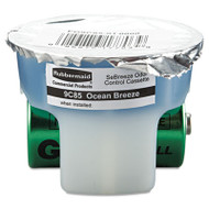 Rubbermaid Commercial SeBreeze Fragrance Cassette, Ocean Breeze, 1.25oz, 6/Carton (RCP 9C85-01)